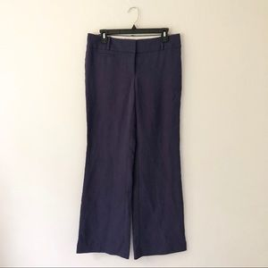 Loft Purple Trouser Pant